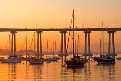 Barche a vela di Coronado a riposo Fotografia Stock