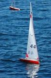 Barche a vela di modello Fotografia Stock Libera da Diritti