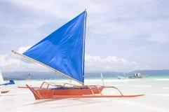 Barche a vela tradizionali Fotografie Stock