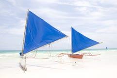 Barche a vela tradizionali Fotografia Stock