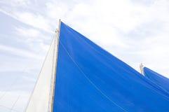 Barche a vela tradizionali su Boracay Fotografie Stock