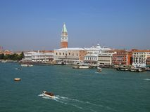 Barche a Venezia, Italia Immagine Stock