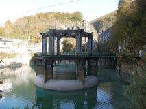Barcis Dam Royalty Free Stock Photo