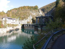 Barcis Dam Stock Images