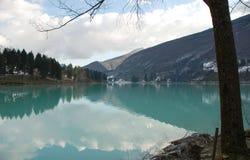 Barcis Lake Royalty Free Stock Photo