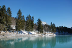 Barcis Lake, Friuli Royalty Free Stock Images