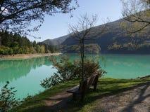 Barcis Lake Royalty Free Stock Image