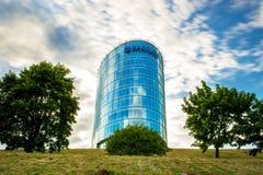 Barclay-Büro Lizenzfreie Stockbilder