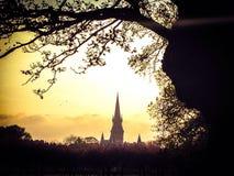 Barclay Church Edinburg Royaltyfria Foton