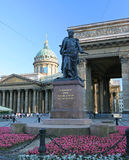 barclay de monument till tollien Royaltyfri Bild
