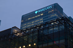 Barclays obrazy stock