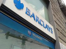 Barclays Bank Arkivbild