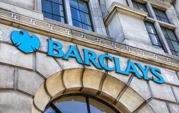 Barclays Bank Royalty-vrije Stock Fotografie