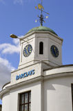 Barclays Bank clock tower Royalty Free Stock Image