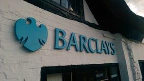 Barclays Bank-Embleem Stock Afbeelding