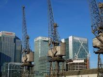 Barclays Bank, HSBC och Citigroup kontor - London UK Fotografering för Bildbyråer