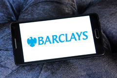 Barclays bank logo Royalty Free Stock Photos