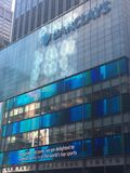 Barclays Bank in New York Royalty Free Stock Images