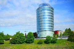 Barclays bank office in Vilnius city Stock Photo