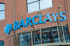 Barclays Bank Sign Royalty Free Stock Photo