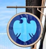 Barclays Bank-Teken Stock Afbeeldingen