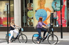 Barclays Bicycle Scheme Stock Photos