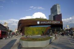 Barclays-Center in Brooklyn New York stockbilder