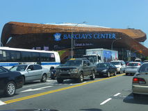 Barclays Center in Brooklyn Royalty Free Stock Images