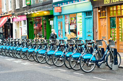 Barclays Cycle Hire Stock Image