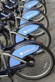 Barclays Cycle Hire, London Royalty Free Stock Images
