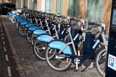 Barclays cycle hire scheme Royalty Free Stock Photo