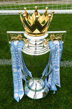 Barclays English Premier league football Trophy Stock Images