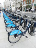 Barclays Fahrräder Stockfoto
