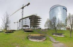 Barclays kontor i Vilnius Royaltyfri Bild