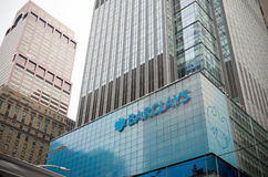 Barclays office in new york Stock Photo
