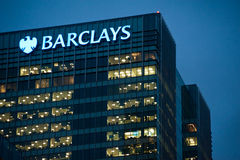 Barclays offices in London Royalty Free Stock Photos