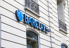 Barclays Royalty Free Stock Photography