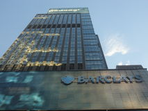Barclays, Time Square, New York City, NY Stock Photography