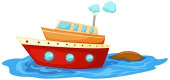Barco ilustración del vector