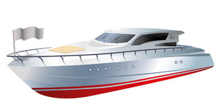 Barco ilustração royalty free