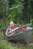 Barco abandonado Imagen de archivo libre de regalías