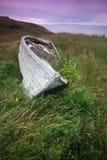 Barco abandonado Imagenes de archivo