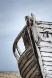 Barco abandonado viejo Imagenes de archivo