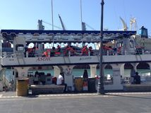 Barco agradable Foto de archivo libre de regalías