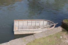 Barco, agua, lago Foto de archivo