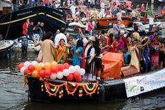 Barco alegre de Hindustan, orgullo alegre 2011 Imágenes de archivo libres de regalías