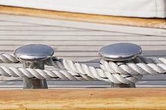 Barco amarrado Fotografía de archivo libre de regalías