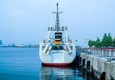 Barco amarrado Foto de Stock