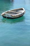 Barco anclado Foto de archivo libre de regalías