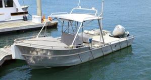 Barco asegurado Imagen de archivo libre de regalías